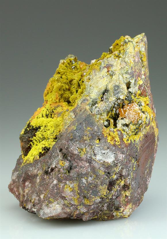 Tsumcorite With Wulfenite and Duftite