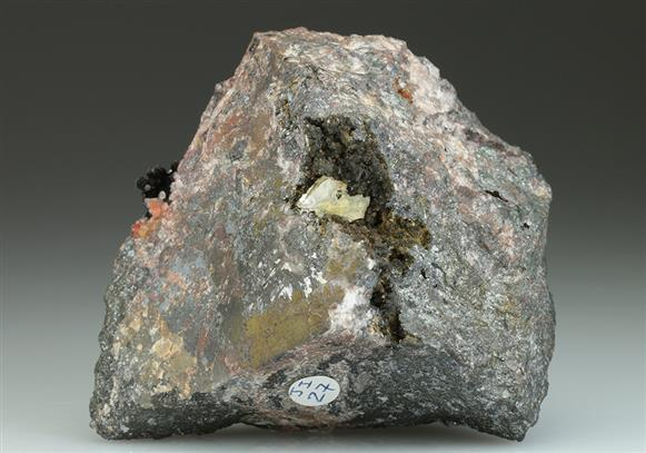 Leiteite With Zincian Siderite