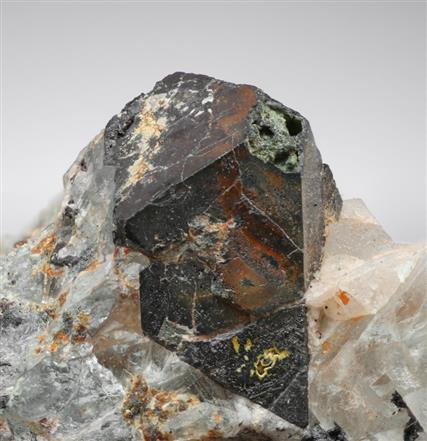 Ferberite Pseudomorph After Scheelite