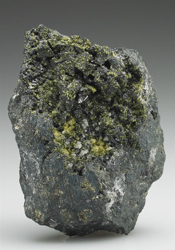 Stottite With Zincian Siderite