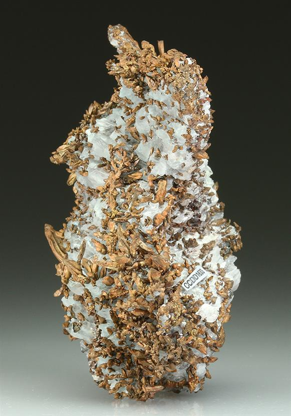 Native Copper In Gypsum