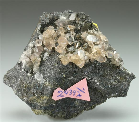 Greenockite With Smithsonite