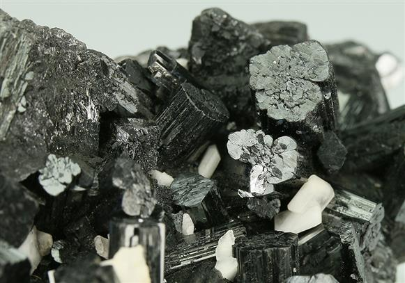 Manganite With Baryte