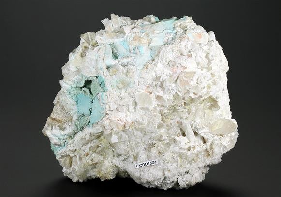 Turquoise With Wavellite