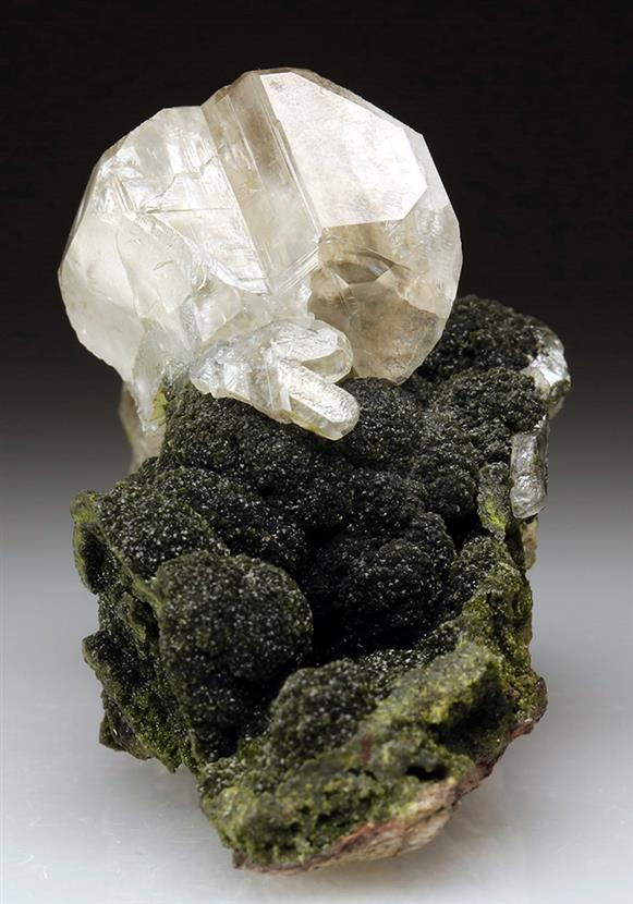 Cerussite on Mottramite