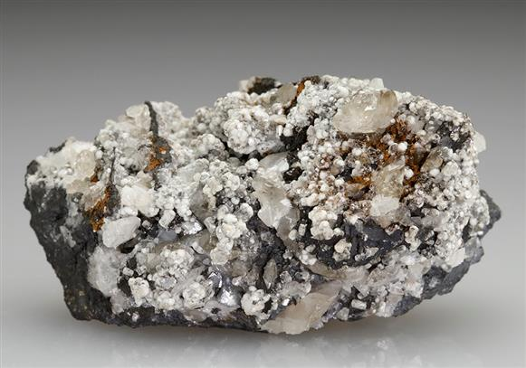 Cerussite on Willemite