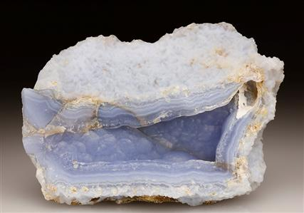 Blue Chalcedony-agate