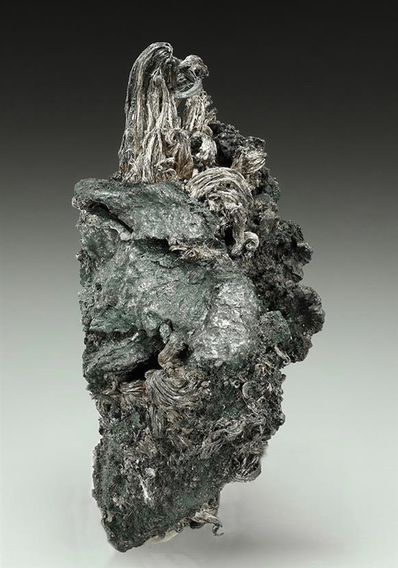 Native Silver on Acanthite