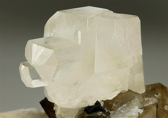 Phenakite With Quartz and Microcline