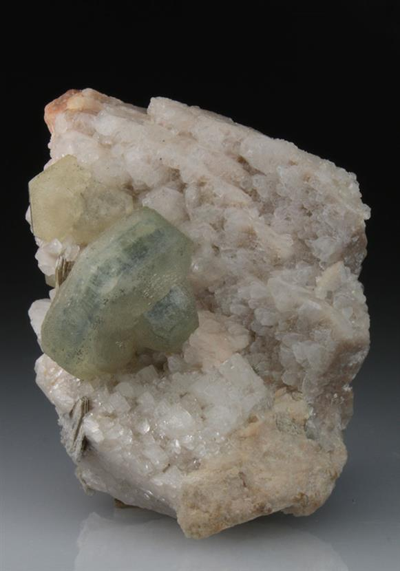 Apatite With Albite