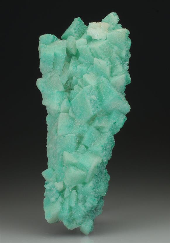 Dioptase Included Calcite
