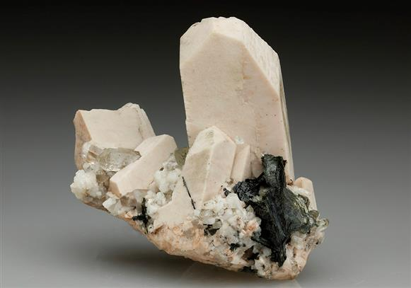 Orthoclase With Quartz