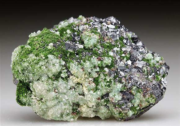 Cuprite With Conichalcite and Dolomite