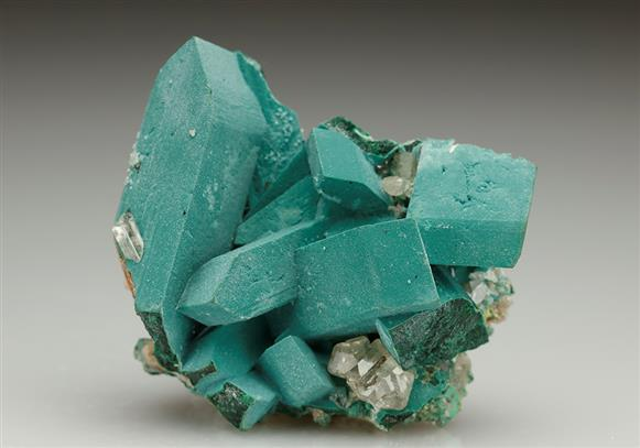 Rosasite Coating Malachite After Azurite
