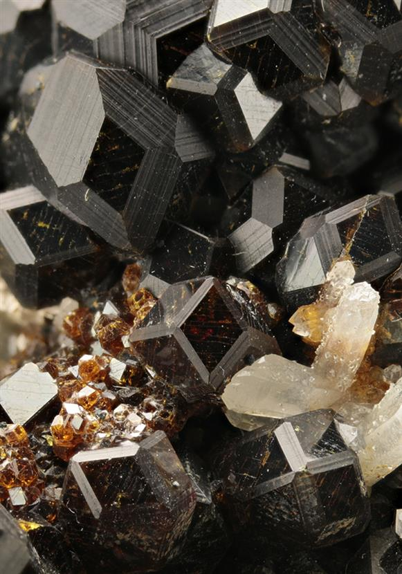 Andradite With Quartz