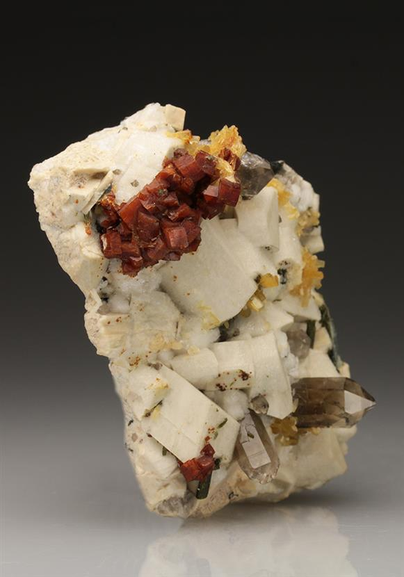 Chabazite-Ca With Stilbite-Ca
