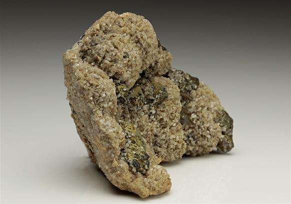 Tetrahedrite Coated By Chalcopyrite