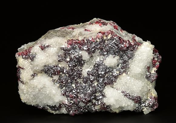 Cinnabar With Quartz