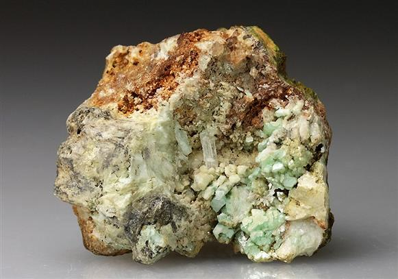 Susannite, Leadhillite and Cerussite
