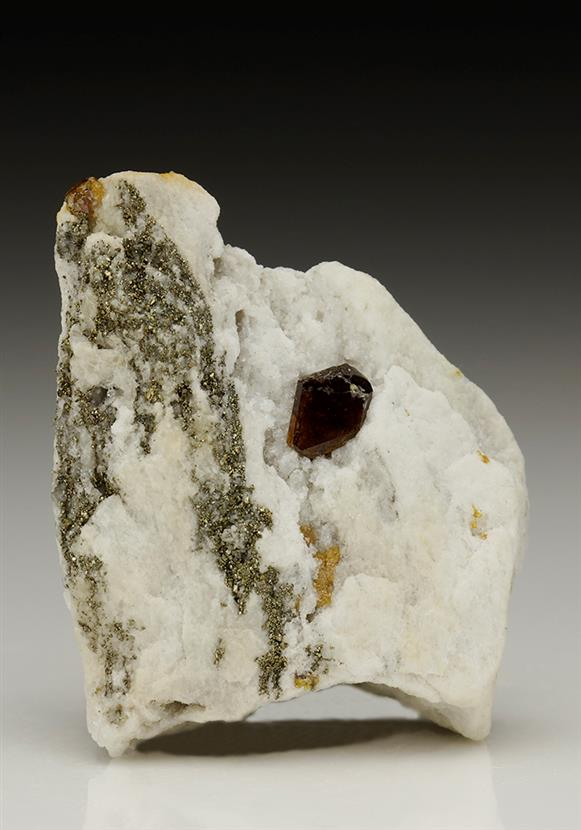 Sphalerite With Pyrite