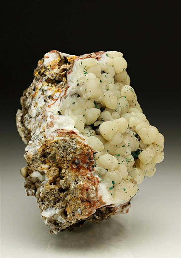 Smithsonite With Malachite