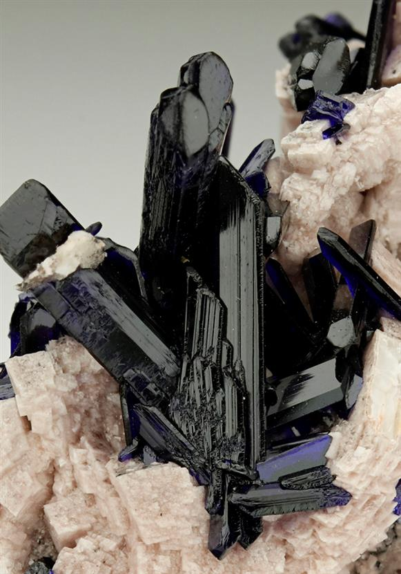 Azurite on Dolomite