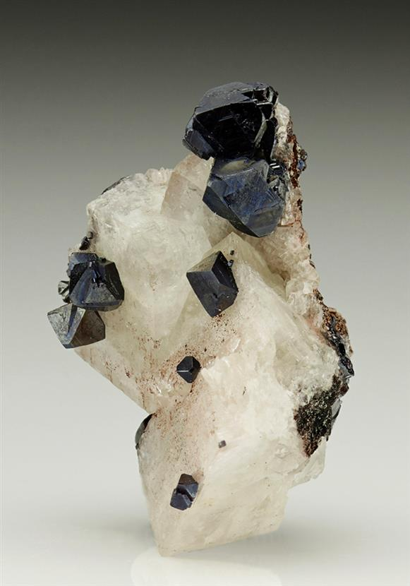 Cuprite on Calcite