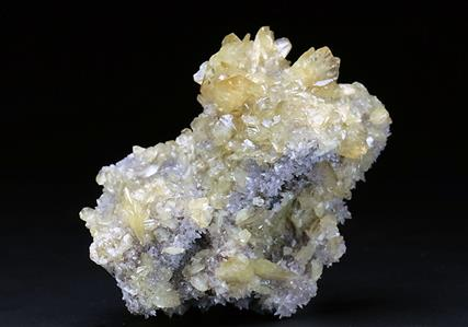 ADAMITE with SMITHSONITE and TSUMCORITE