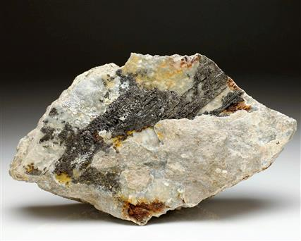 Sylvanite on Quartz