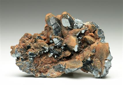 Hematite and Andradite Garnet