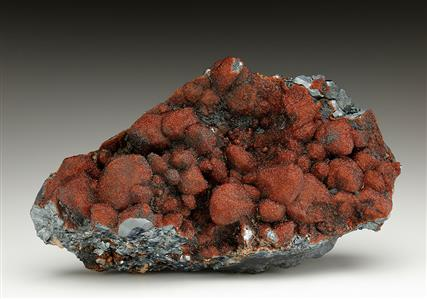 Andradite on Hematite