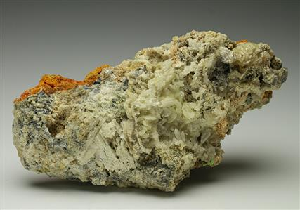 Cerussite with Hydrocerussite and Pyromorphite
