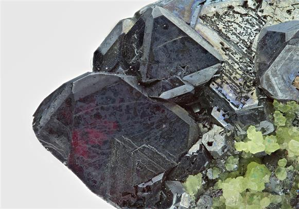 Cuprite with Cuprian Smithsonite