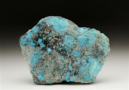 Turquoise with Pyrite