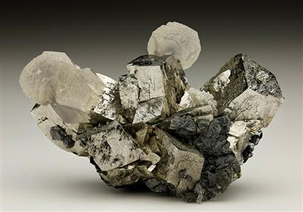 Arsenopyrite with Calcite
