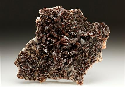 Descloizite on Dolomite