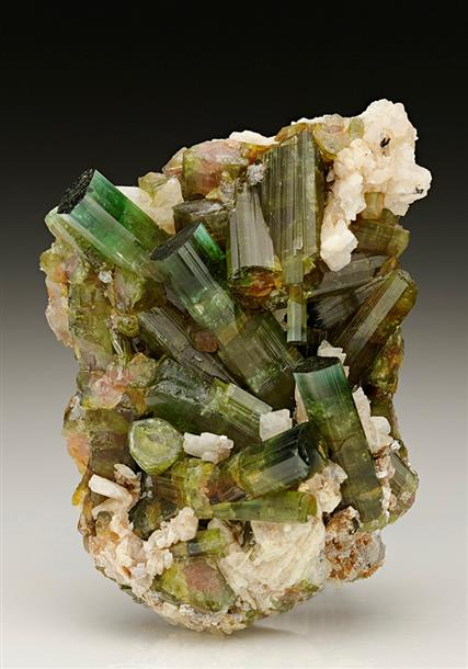 Tourmaline with Albite