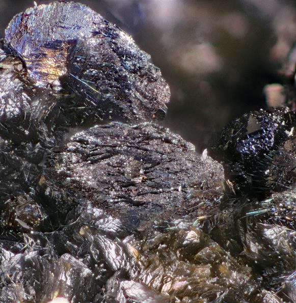 Fuloppite with Zinkenite and Sphalerite