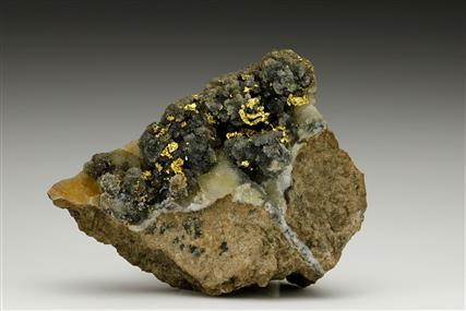 Native Gold on Quartz