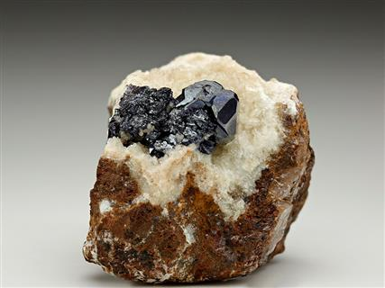Cuprite on Dolomite