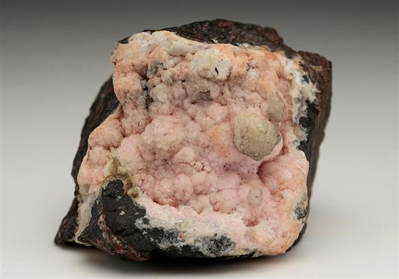 Rhodochrosite with Calcite