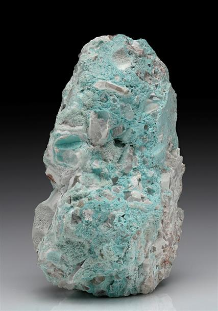 Wavellite with Turquoise