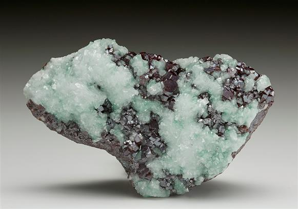 Dolomite on Cuprite