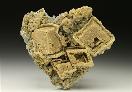 Siderite Epimorphs after Calcite