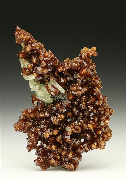 Grossular Garnet with Diopside