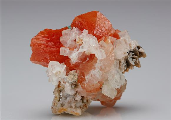 Chalcotrichite included Cerussite