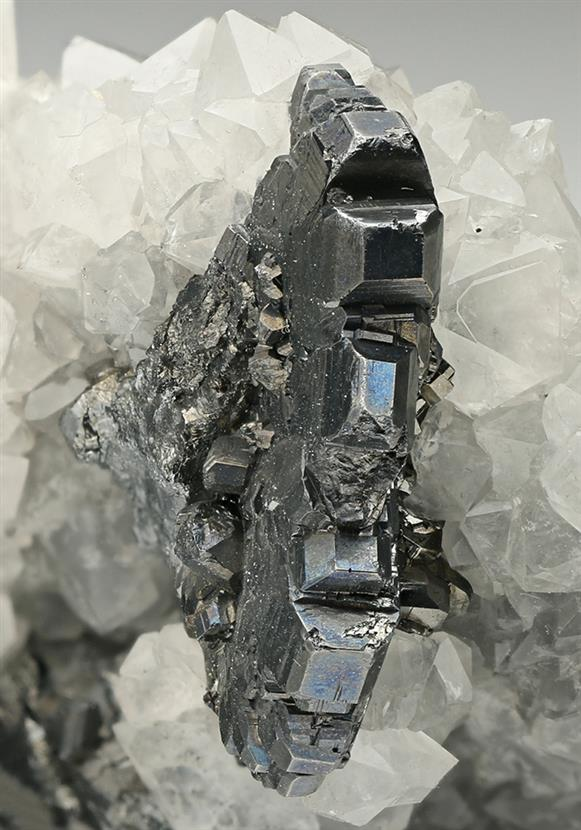 Bournonite with Quartz