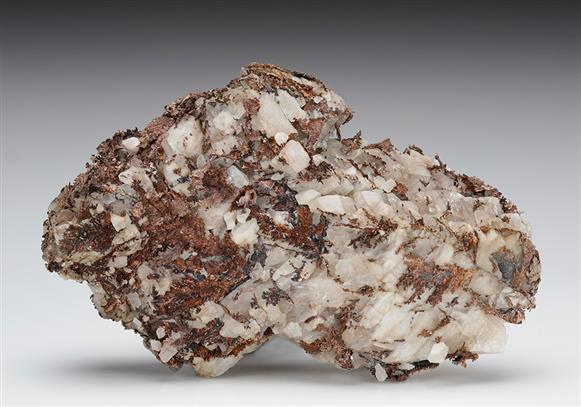 Native Silver in Baryte