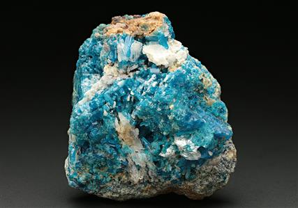 Caledonite with Leadhillite