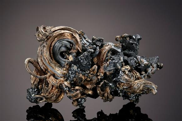 Native Silver with Acanthite